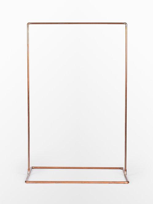 Single frame copper arbor