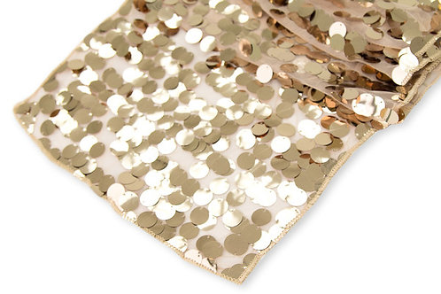 champagne payette sequin runner