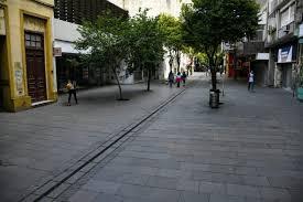 Calles de la Ciudad lucen vacías en #UnDíaSinEllas