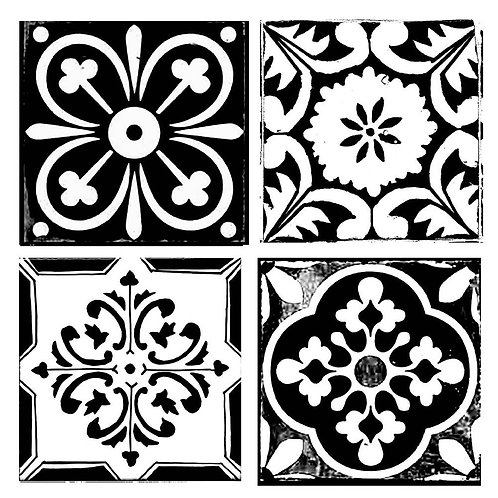 Tile  - Stamperia Stencil