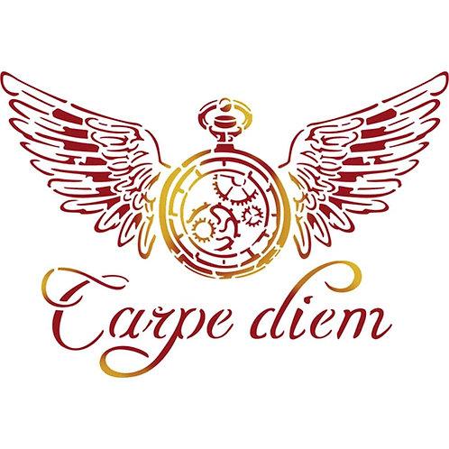 Carpe Diem - Stamperia Stencil