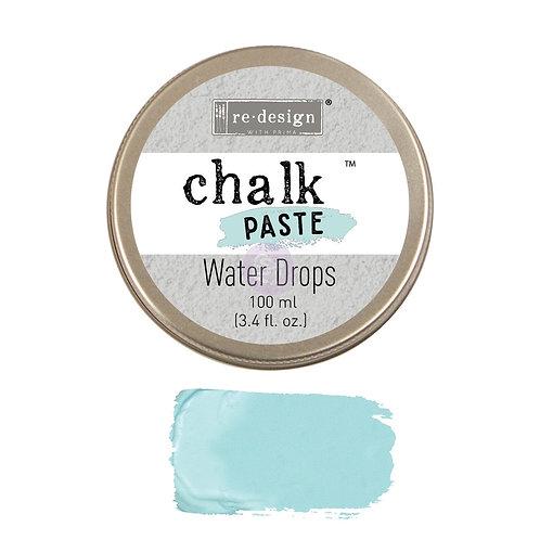 Water Drops  -Chalk Paste