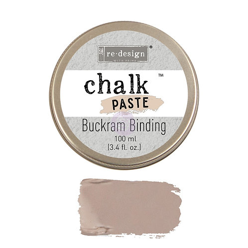 Buckram Binding  -Chalk Paste