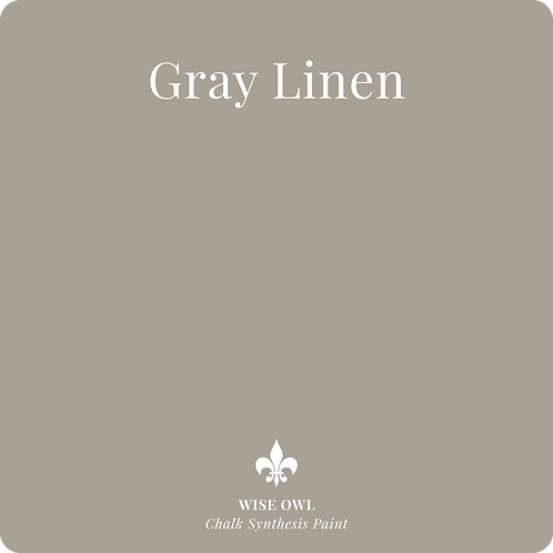 Gray Linen - Chalk Synth Paint