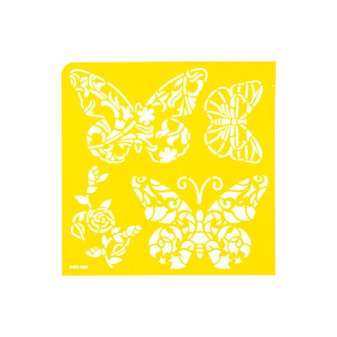 Butterflies- Adhesive Stencil