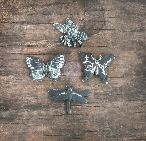 Resin-- Butterfly, Bee, Dragonfly