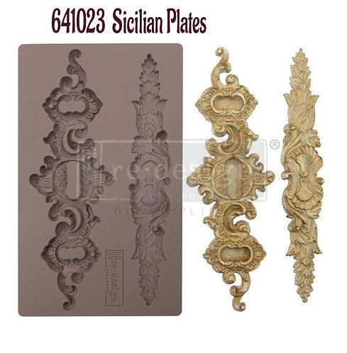 Sicilian Plates ~ Prima Mold