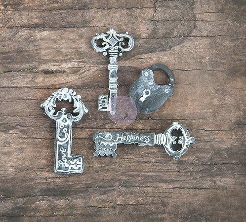 Resin-- Lock & Key Assortment