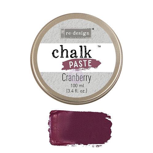 Cranberry  -Chalk Paste