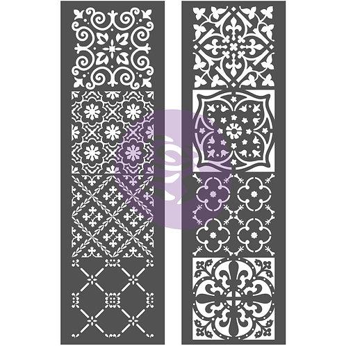 Arabesque Tiles - Prima Stencil