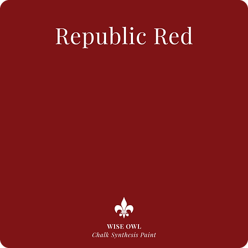 Republic Red - Chalk Synth Paint