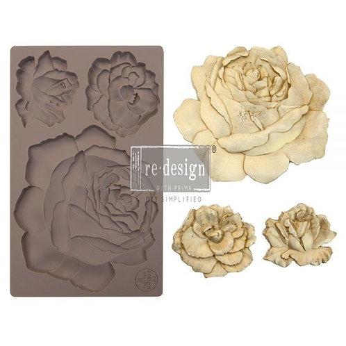 Etruscan Rose ~ Prima Mold