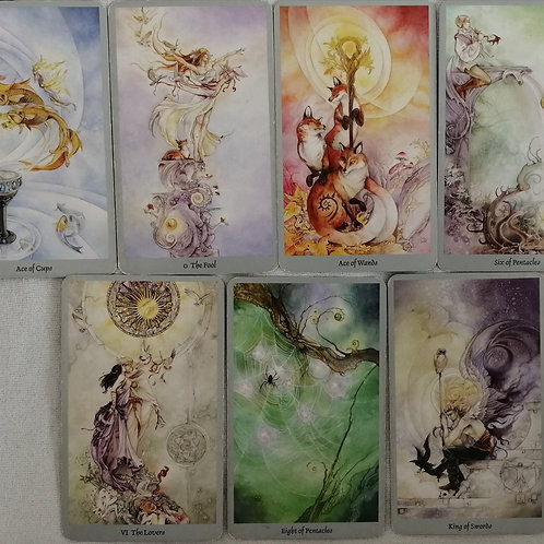 Card Readings and bespoke 1-1 or group guided meditations