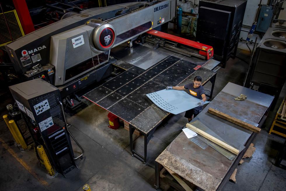 QC Laser cutter
