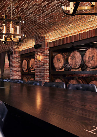 Hotel Distil Barrel Room