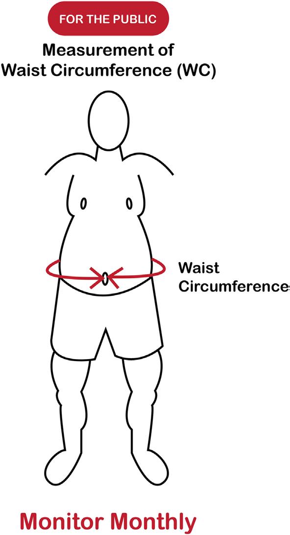 Circunferência da Cintura para o Público