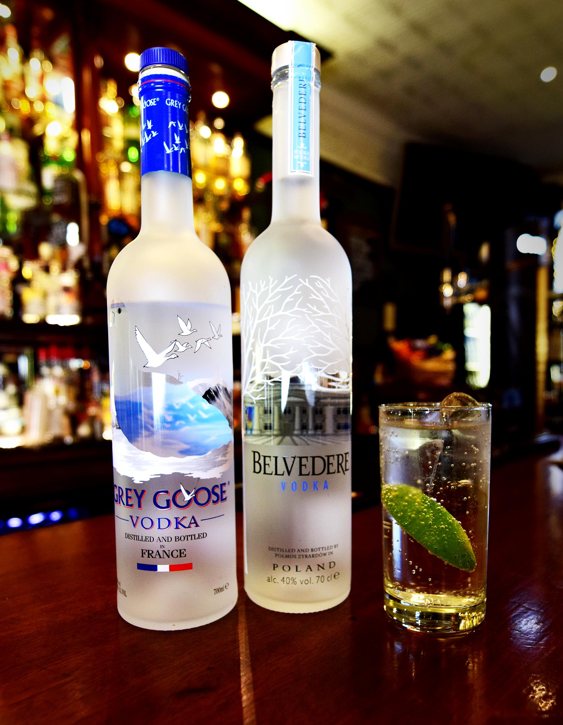 Heraghty's Bar Vodka