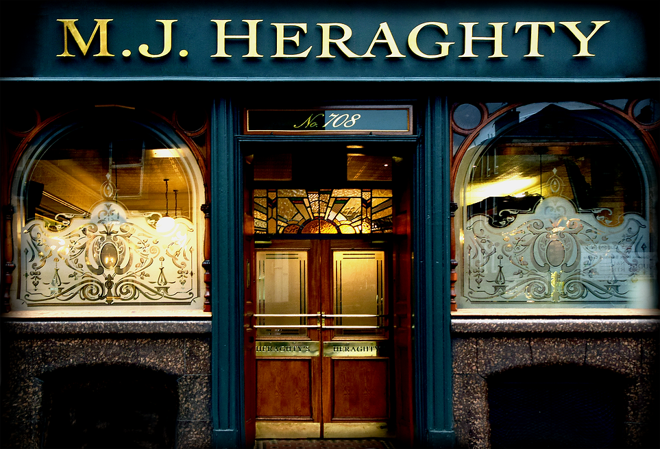 Heraghty' Bar friendly Irish bar in Glasgow's southside