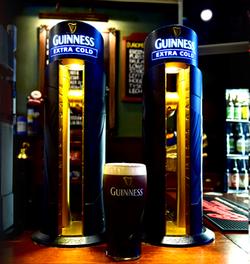 Heraghtys Bar Guinness font