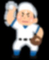 野球肩の画像