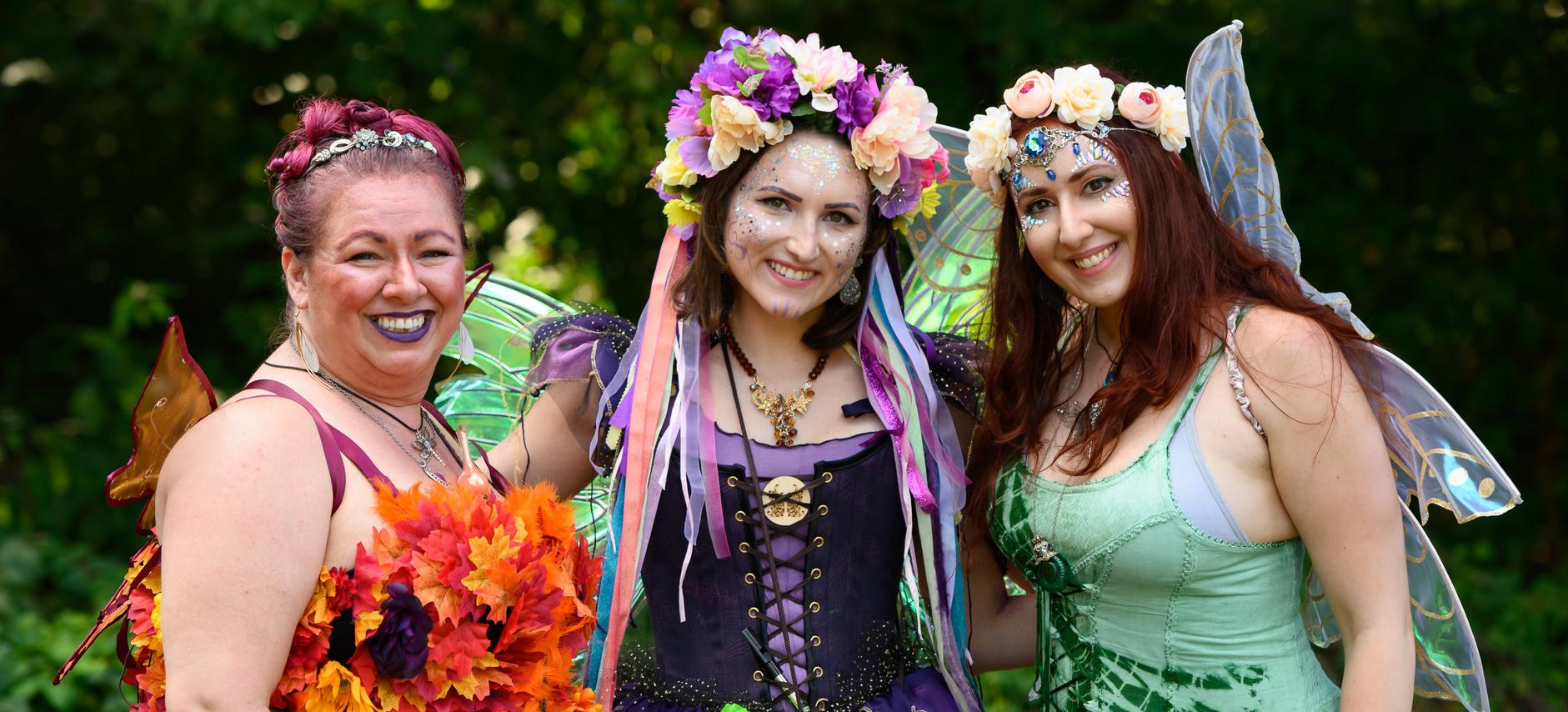 Woodland & Friends at the Virginia Fairy Festival