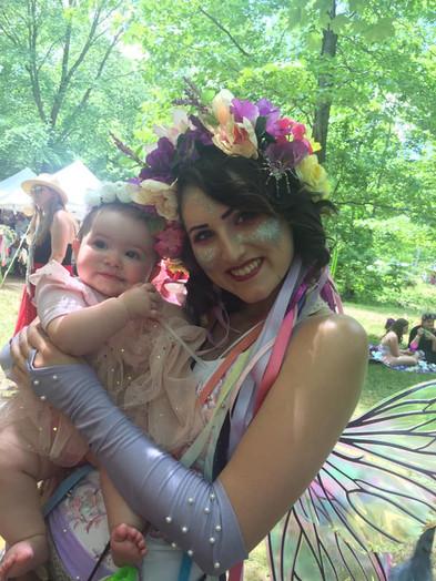 A stolen faerie baby