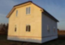 Дом из СИП панелей в Калининграде, СМЛ Калининград, строительство ИЖД