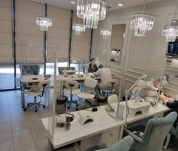 Экраны на стол, перегородки для салонов красоты, экраны для маникюрных салонов, в Калининграде