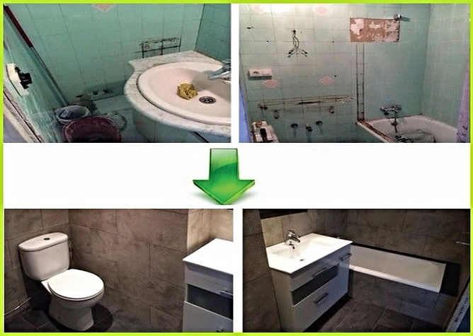 Плитка для ванной в Калининграде