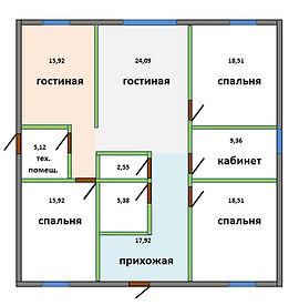 Строительтво дома, Калининград, СМЛ