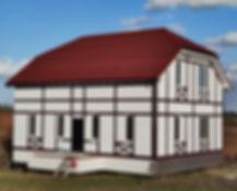 Дом из СИП панелей, ижд Калининград, продажа дома, Калининград дома