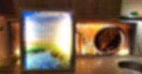 Картина с подсветкой Калининград