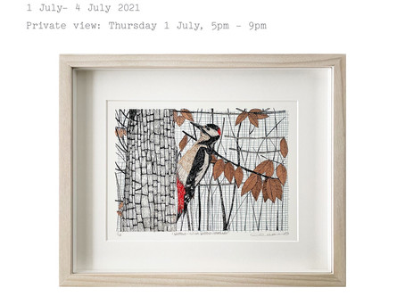 Small Wonders Exhibition at 'Well Hung' Gallery, Hoxton, 1-4 July