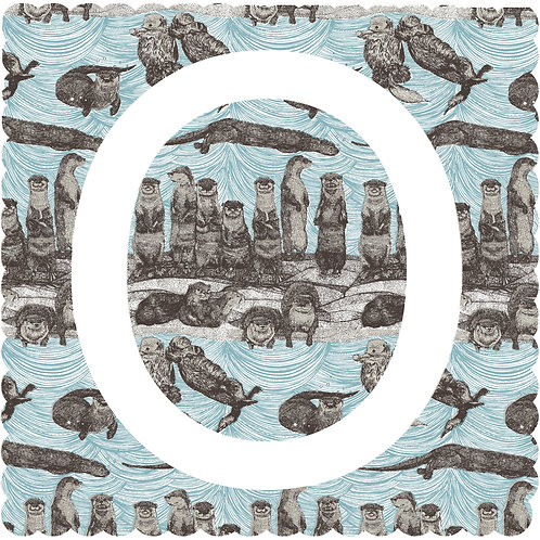 O is for Otter