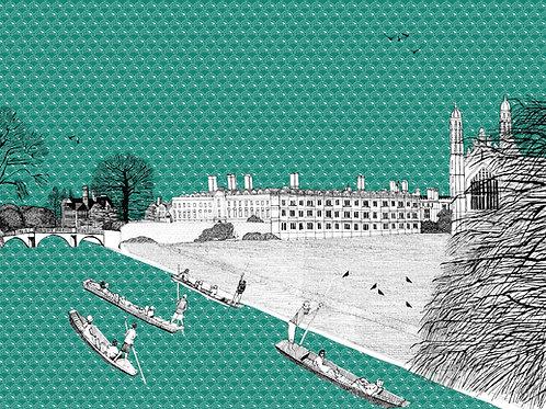 Cruising Kings College Cambridge
