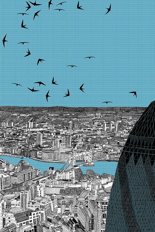 London Lurking behind the Gherkin