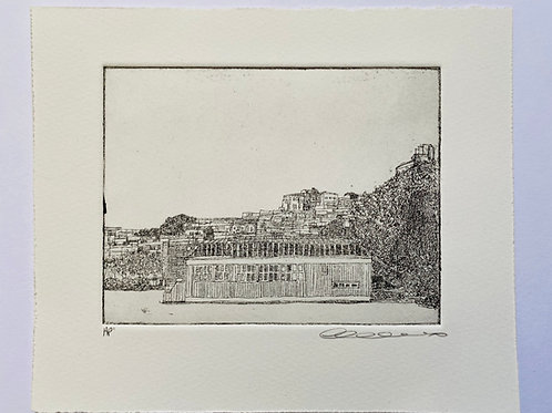 Bad, Stockholm, etching