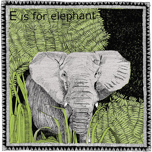 E is for Elephant(small)
