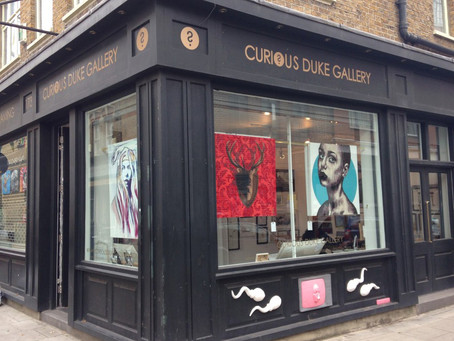 New Stockist!! Curious Duke Gallery