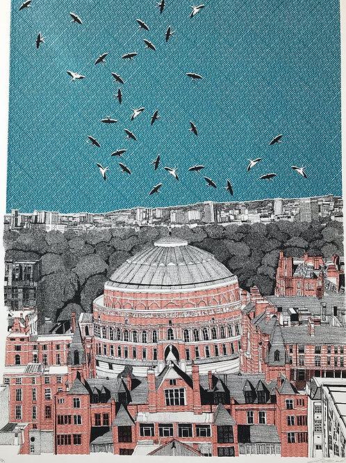 Rooftops at Royal Albert Hall