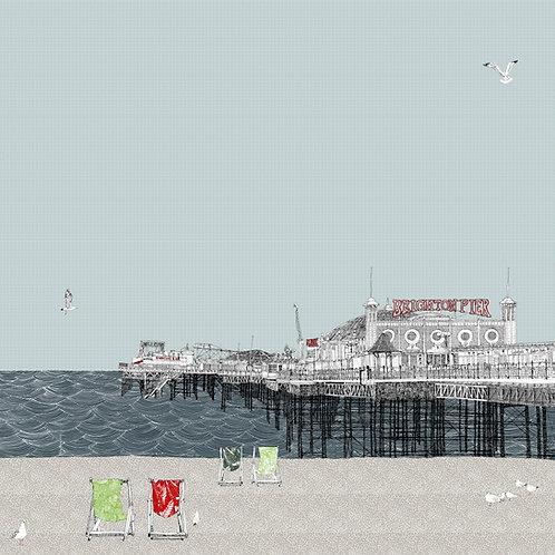 Beachy Keen at Brighton Pier