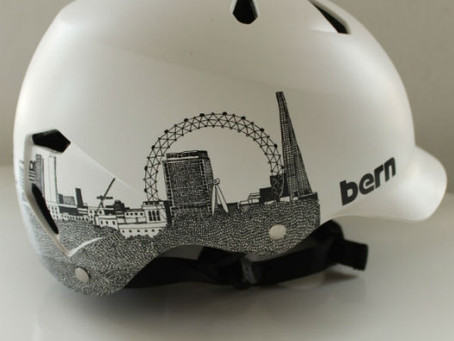 London Skyline Cycle Helmet