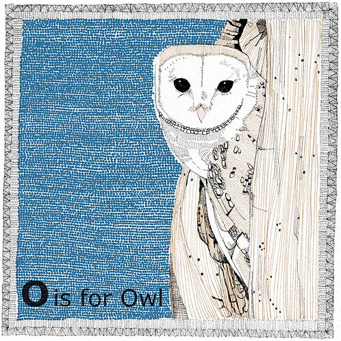 O is for Owl(small)