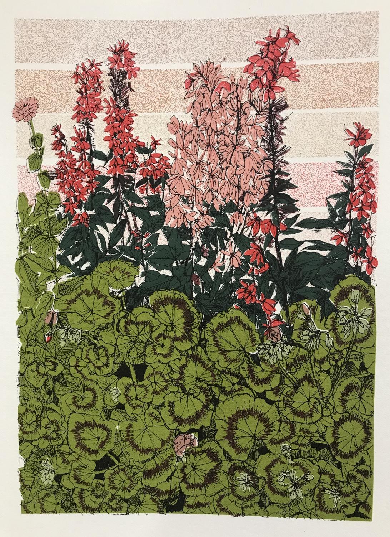 Geranium Flower Bed, Tatton Park