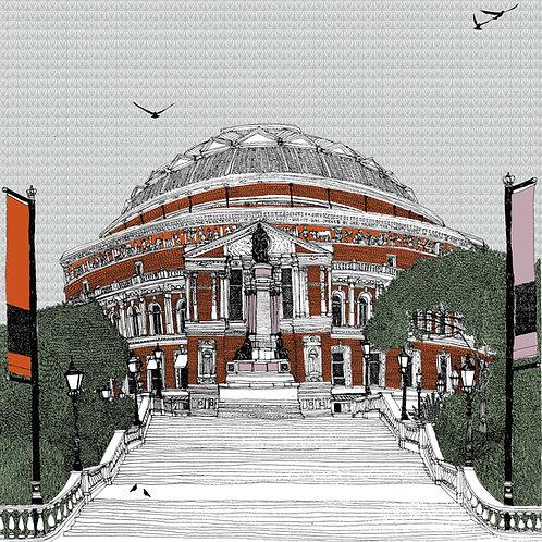 Stairway to Royal Albert Hall, London