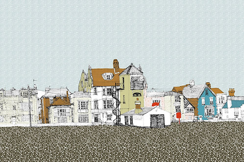 On and on at Aldeburgh