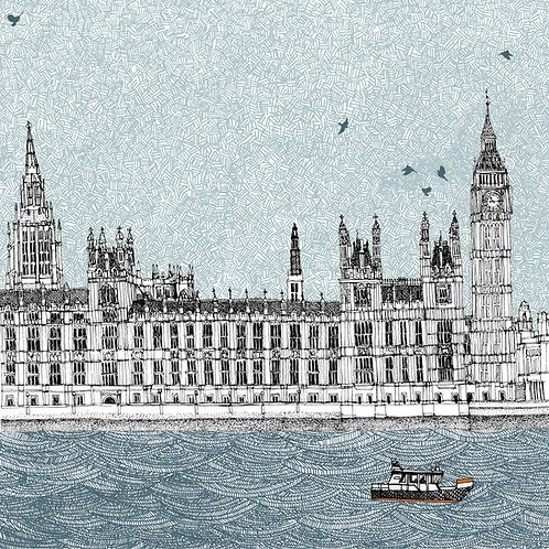 Waves at Westminster, London