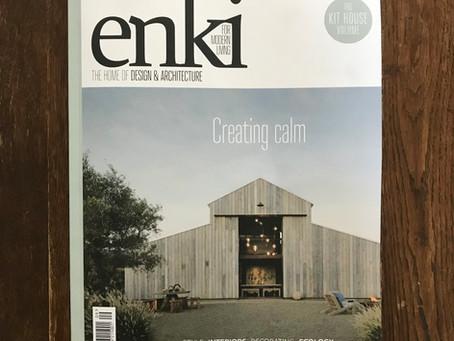 Enki Magazine featured Artist