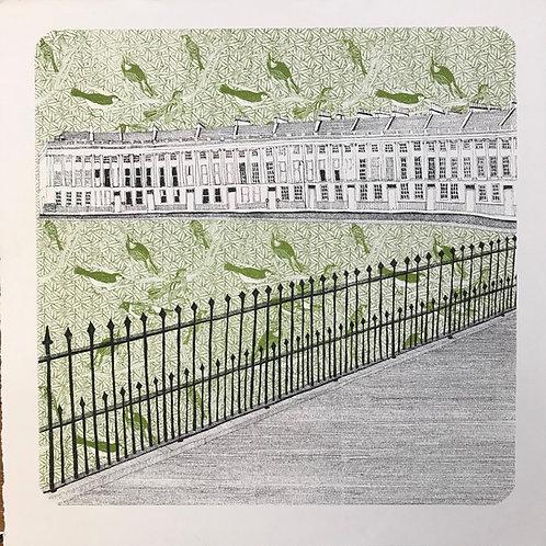 Bath Crescent-Green