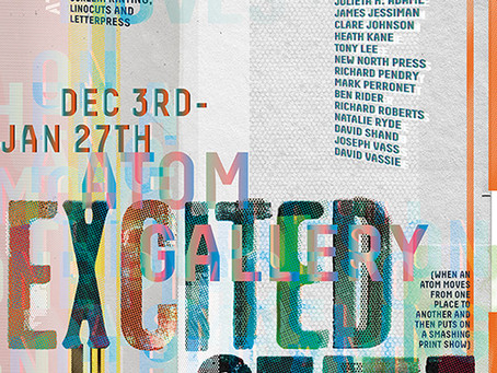 Excited State - New Exhibition at Atom Gallery